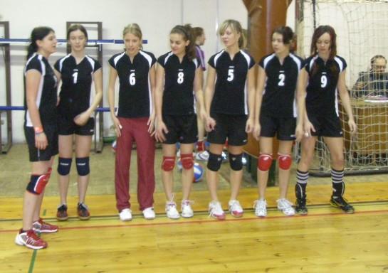 družstvo žákyň březen 2009